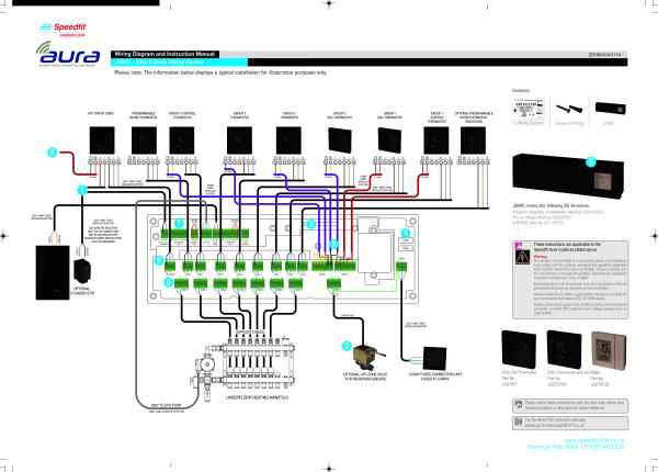 jg-aura-wiring-diagram-230v-z2105-414-1114fa pdf 10 kb united kingdom