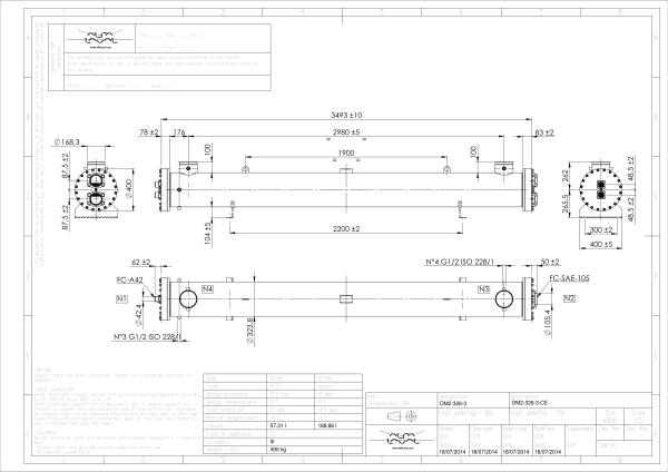 Кожухотрубный испаритель Alfa Laval DM2-227-2 Анжеро-Судженск