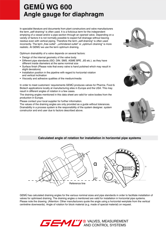 Gemu type 601 sanitary diaphragm valve manually operated gem gemu 601 manually operated diaphragm valve data sheetpdf ccuart Image collections