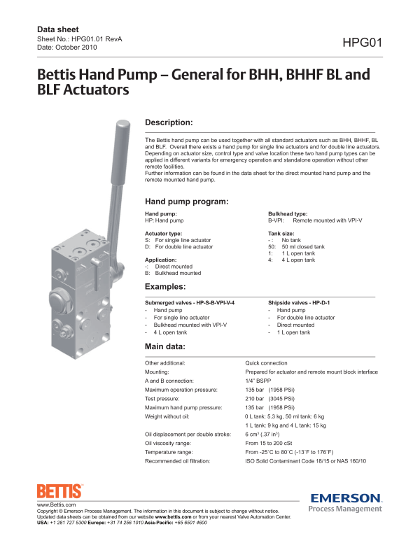 2017040115031762251 bettis bhh (bhhf) hydraulic helical valve actuator emerson process