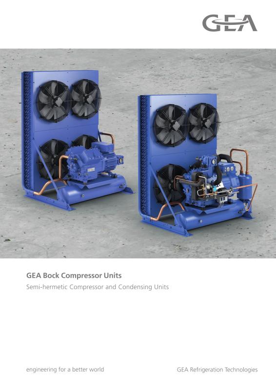 SHA Condensing Units-GEA Group Aktiengesellschaft